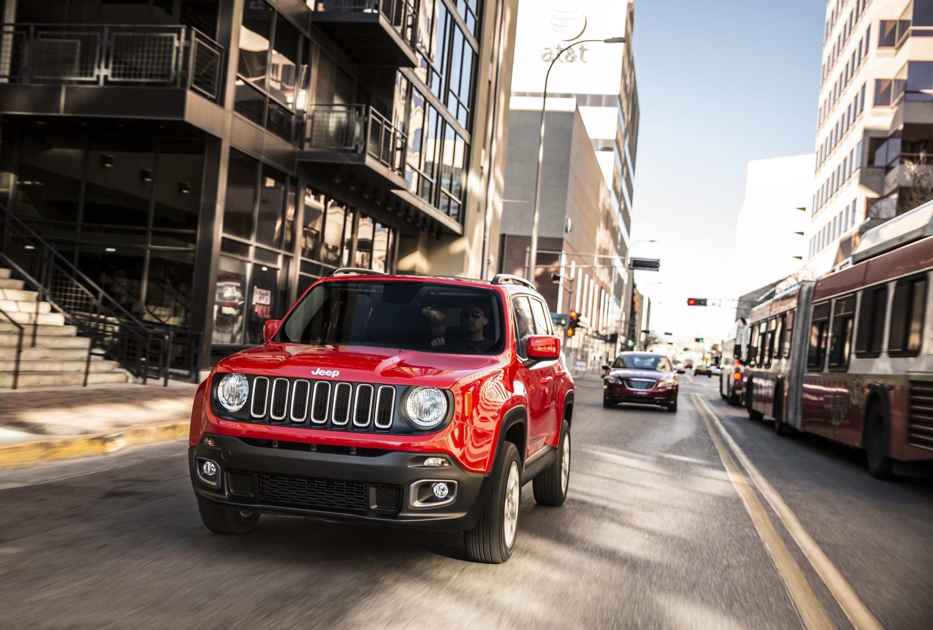 Jeep Renegade Open Day 2014
