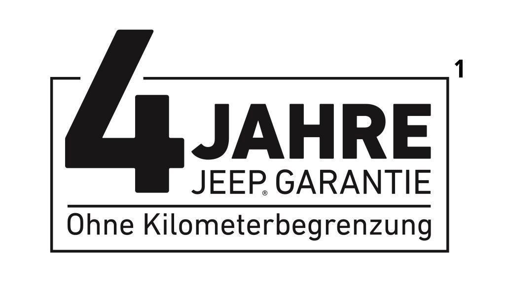 Jeep 4 Jahre Garantie
