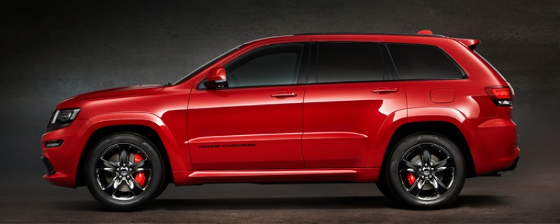 Jeep Grand Cherokee SRT Red Vapor Sondermodell