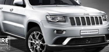 Jeep Grand Cherokee Abverkauf 2016 - Leasing Aktion